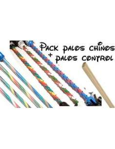 Pack Devil Stick + Palos Silicona