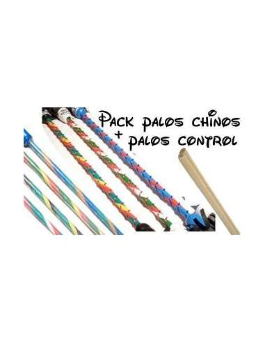 Pack Devil Stick + Pals Silicona