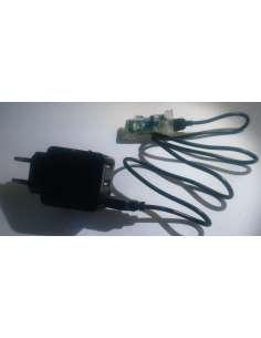 Caregador 3 ports USB